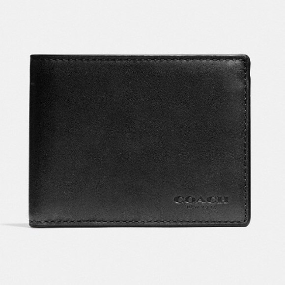 72a212a87786 Authentic Men s Coach Slim Bifold Wallet. M 5b9e6be83c9844dc773b41cf
